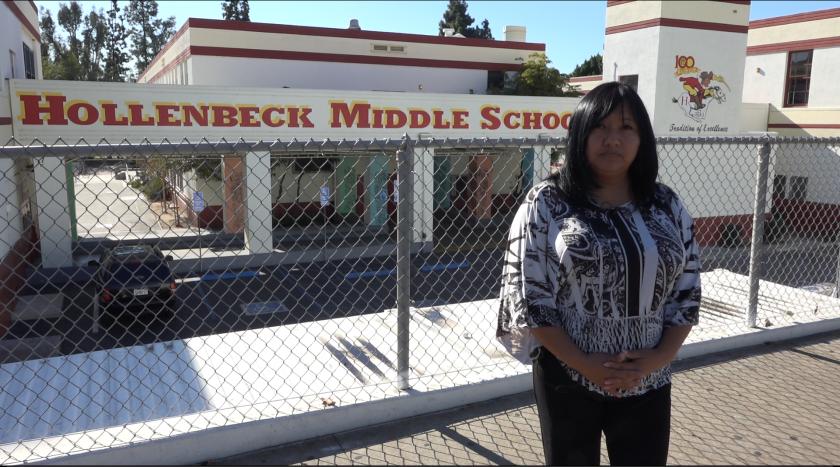 """""""No pude cruzar mis brazos y ver que los padres se quedaban a la merced de lo que algunos maestros les decían por tener miedo y no poder implementar las reglas"""", sostiene la activista."""