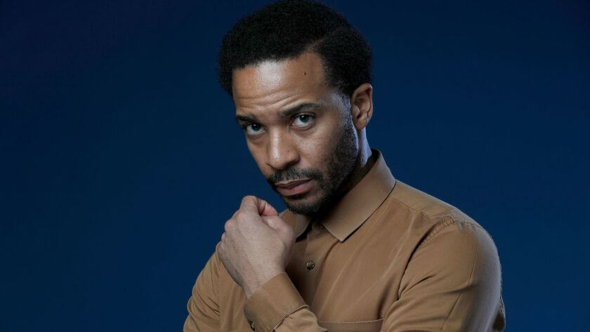 """""""Moonlight"""" actor André Holland says good writing is vital in attracting him to projects."""