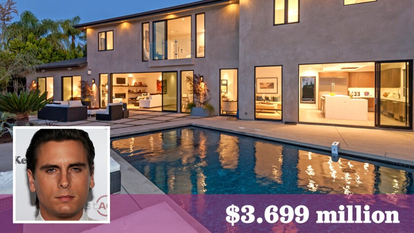The reality television personality paid $3.699 million for the recently redesigned home in Beverly Crest.