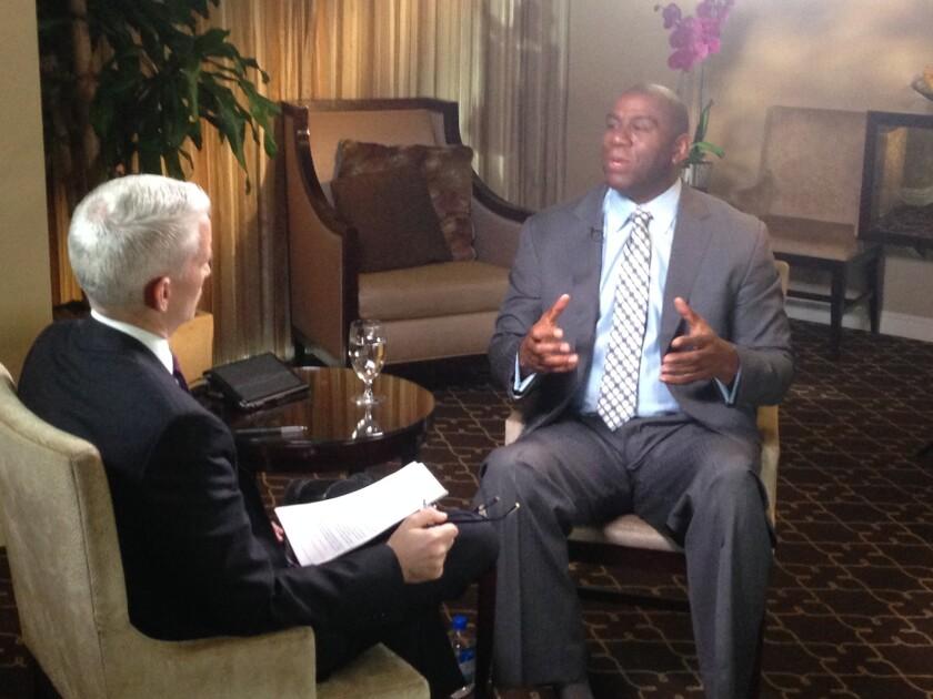 Magic Johnson responds to Donald Sterling on CNN