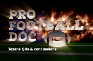 Pro Football Doc: Texans QBs & concussions