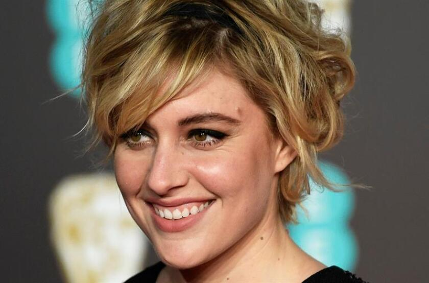 US actress and director Greta Gerwig arrives ahead of the 71st annual British Academy Film Awards at the Royal Albert Hall in London, Britain. EFE/EPA/Archivo
