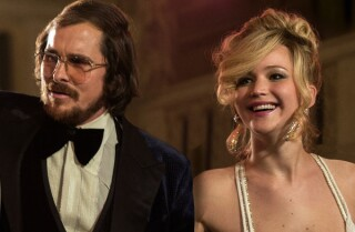 'American Hustle': The kiss