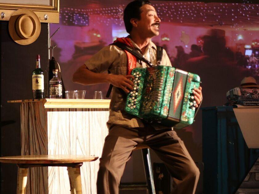 Nicolás Ramiro Valdez, playwright and performer, from San Antonio, Texas