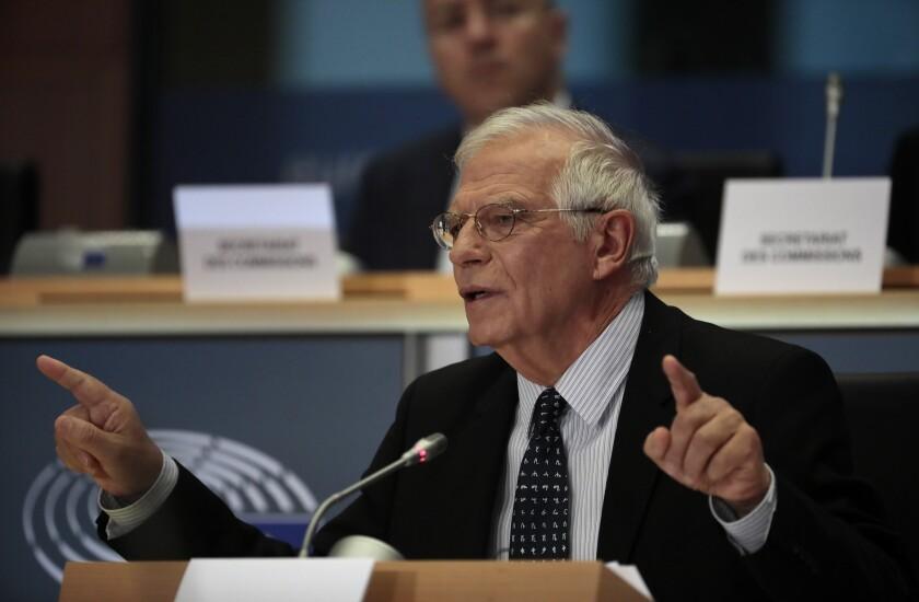 Belgium Europe New Commission Borrell