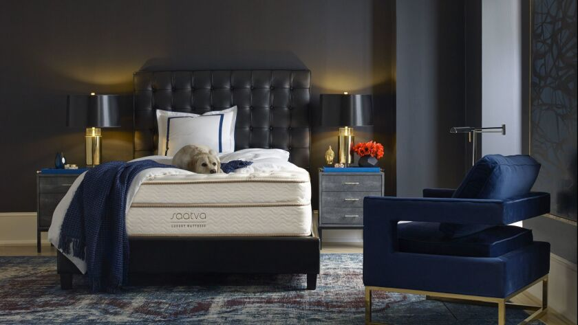 A quality mattress in good condition is essential to your sleep and health. Photo courtesy of Saatva