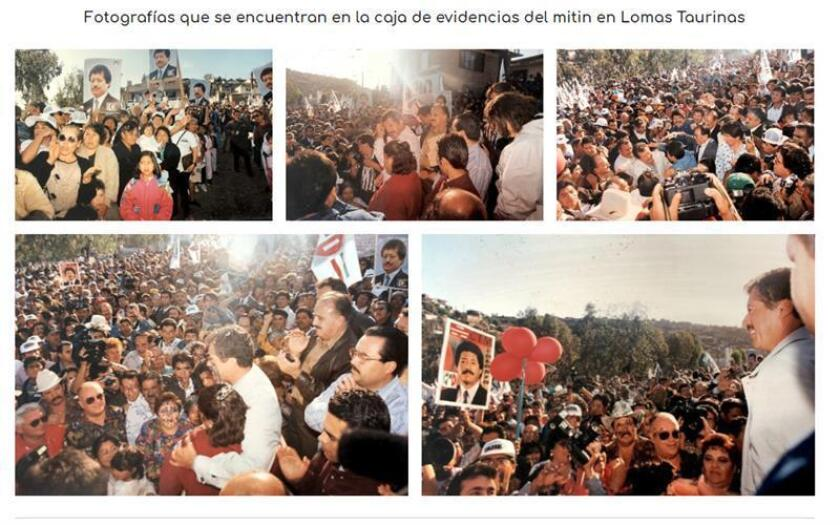 Este sábado se cumplen 25 años del magnicidio de Luis Donaldo Colosio, candidato presidencial del Partido Revolucionario Institucional (PRI). Uno de los sucesos más relevantes de la historia reciente de México. Estas son las preguntas clave para entender el asesinato del que iba a ser presidente de México y cuya muerte consternó a un país entero. EFE/SOLO USO EDITORIAL