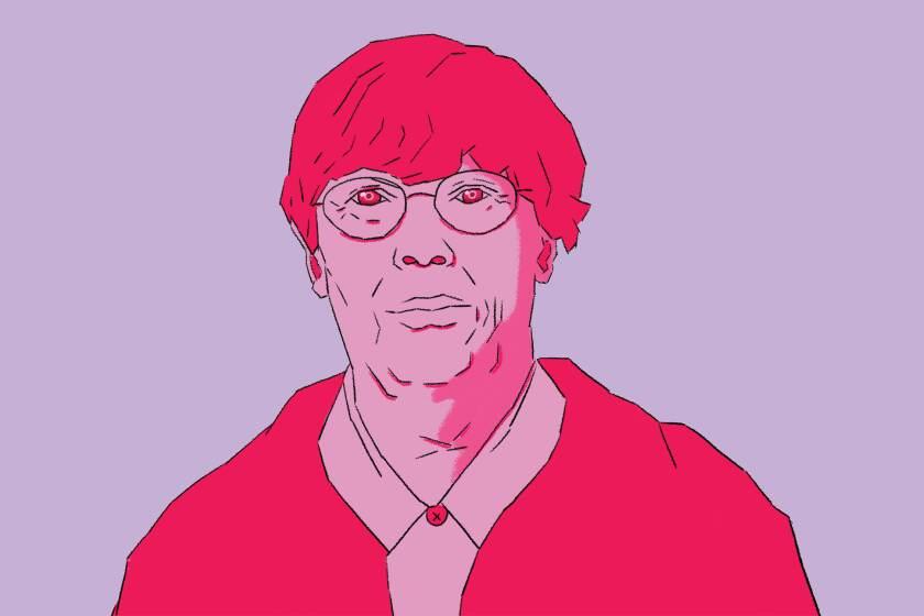 Illustration of Pauline Oliveros