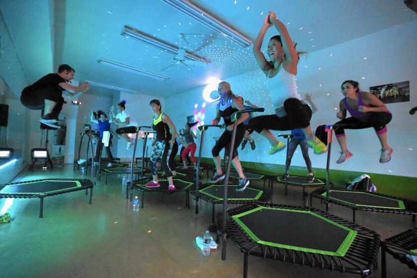 Jumping Fitness in Redondo Beach