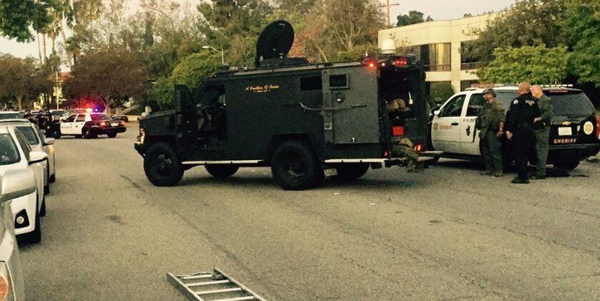 SWAT standoff in South Pasadena