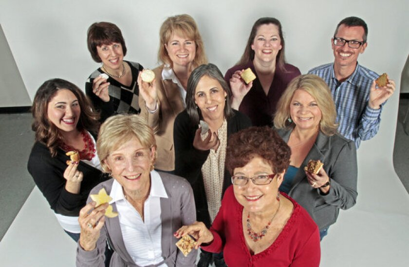 2012's winners: Back row, from left: Lida Frankel, Christina Conte, Linda Amendt and Sean Early. Middle row, from left: Samantha Ferraro, Deb Love and Kelli Abrahamian. Front row: Carol Eblen, left, and Laurel Gillis.