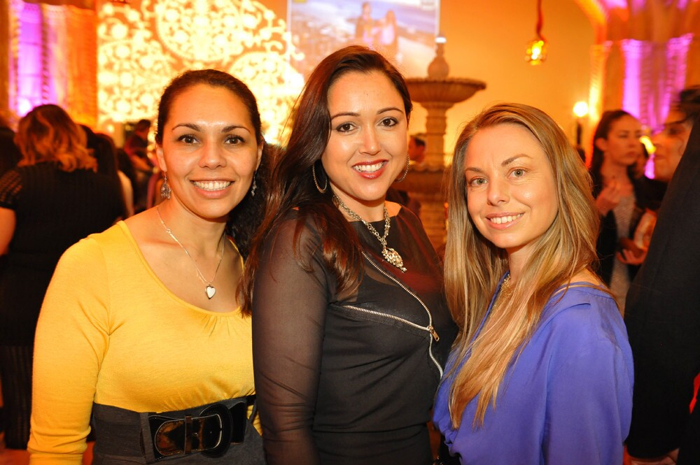 Culture & Cocktails, the after-dark event at the San Diego Museum of Art, featured Persian Nights complete with ancient art of Persia on Feb. 16, 2017. (Jared Gase)