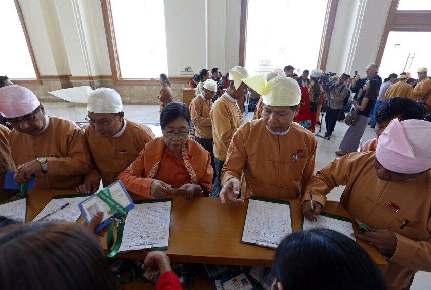 Myanmar's new parliament opens