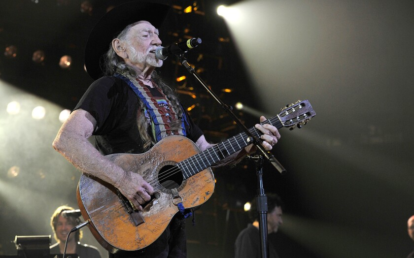 Willie Nelson, 86, is the honoree at this year's Americana Music Assn. pre-Grammy concert.