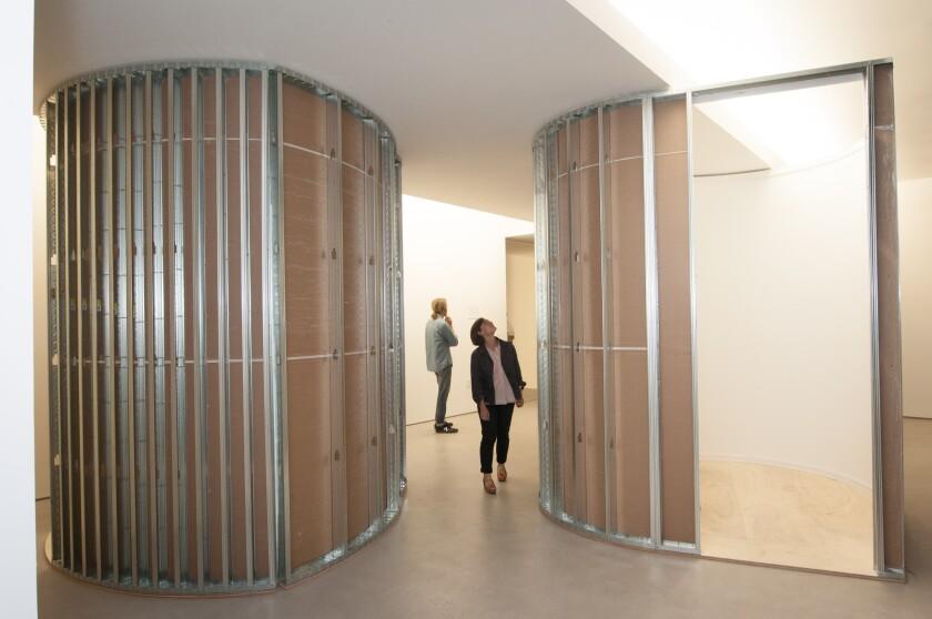 "Erin Besler, ""The Entire Situation,"" installation at MAK Center, Mackey Garage Top, 2014."