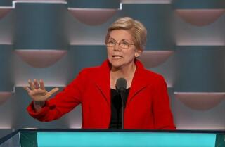 Watch Elizabeth Warren bash Trump's economic record