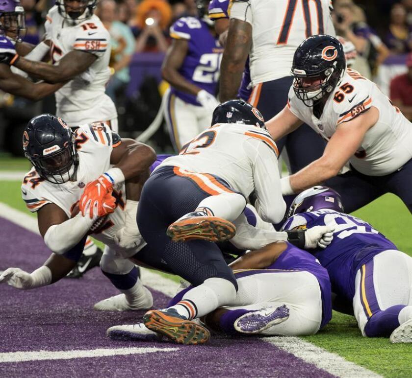 10-24. Howard y los Bears eliminan a los Vikings