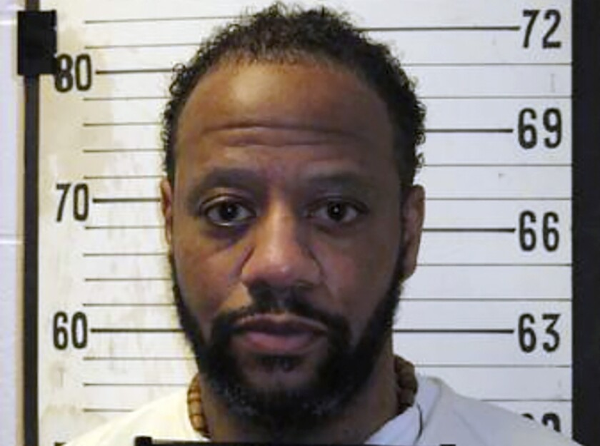 "FILE - This file photo provided by Tennessee Department of Correction shows Tennessee death row inmate Pervis Payne. Tennessee Gov. Bill Lee has granted a death row inmate a temporary reprieve from execution. Lee issued a short statement Friday afternoon Nov. 7, 2020 saying he is granting a reprieve to Pervis Payne until April 9 ""due to the challenges and disruptions caused by the COVID-19 pandemic (Tennessee Department of Correction via AP, File)"