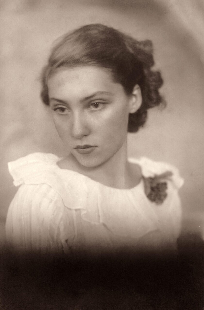 "Photo of Clarice Lispector from the book ""Why This World: A Biography of Clarice Lispector"" by Benja"
