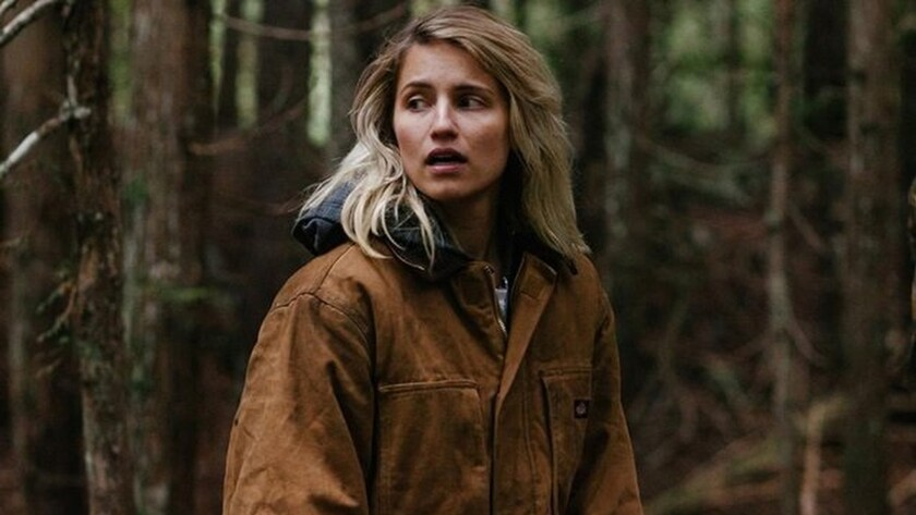 """Dianna Agron in the movie """"Hollow in the Land."""""""