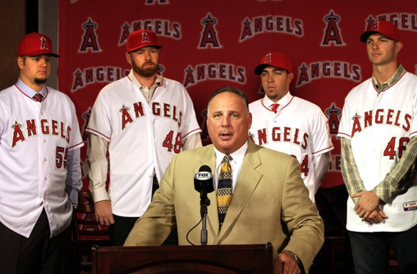 Angels' pitching plans fell through along the way