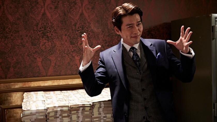 """Hyun Bin in the Korean thriller """"The Swindlers."""""""