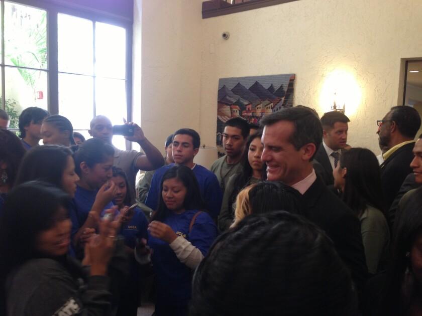 L.A. Mayor Garcetti vows to boost summer jobs