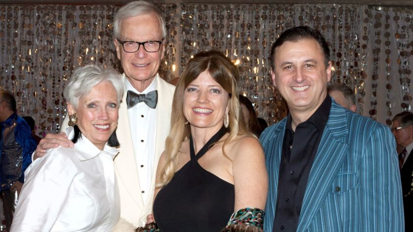 Event Co-chairs Ruth Ann Evans and John Evans, Michele Forsyte, and John Forsyte, President of the P