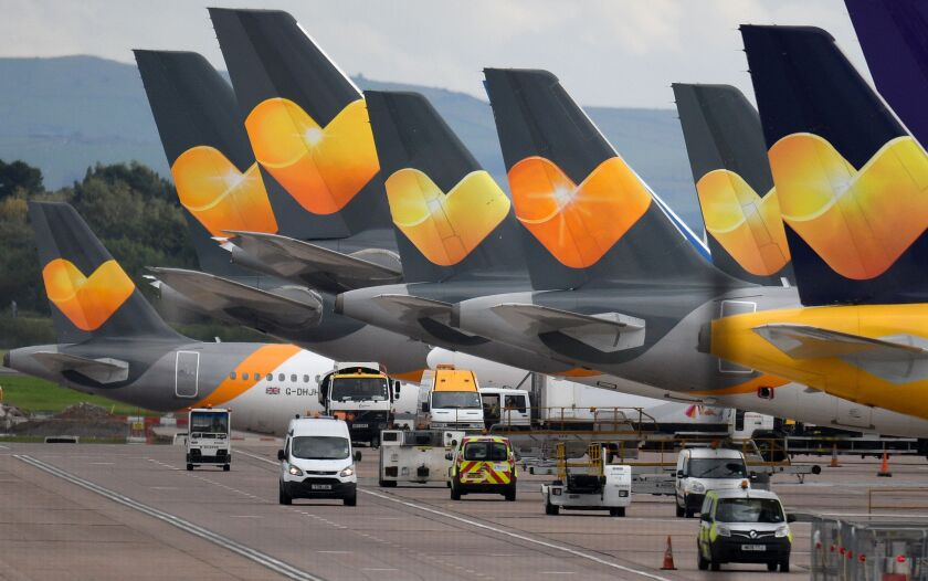 Thomas Cook airplanes