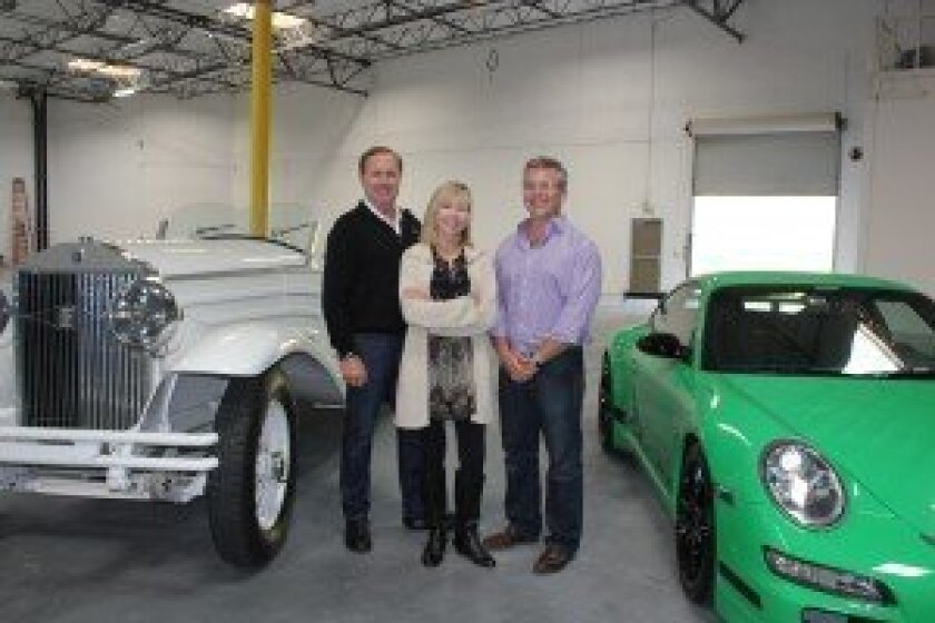 L-R, Charles Butler, owner; Michele Killman, business consultant; Dean Liebowitz, general manager. Courtesy photo