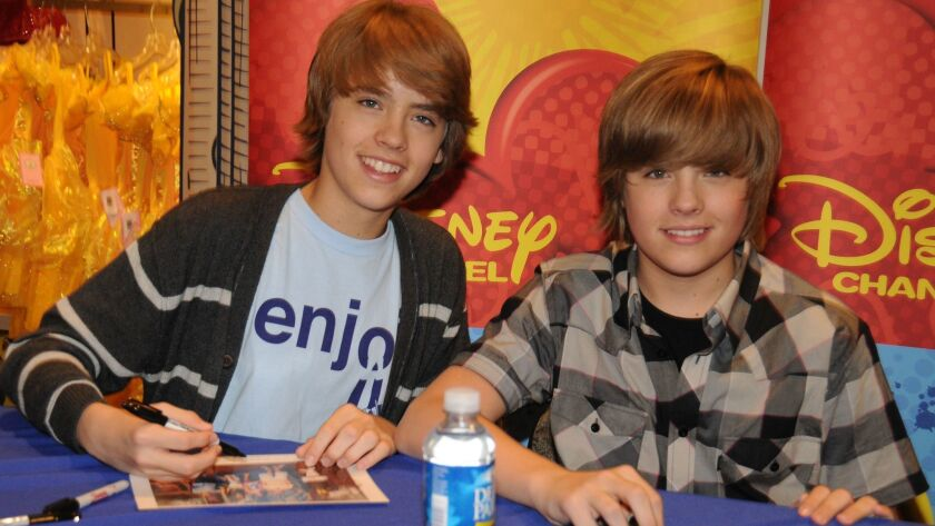 """Cast Of """"The Suite Life On Deck"""" Visit The World Of Disney"""