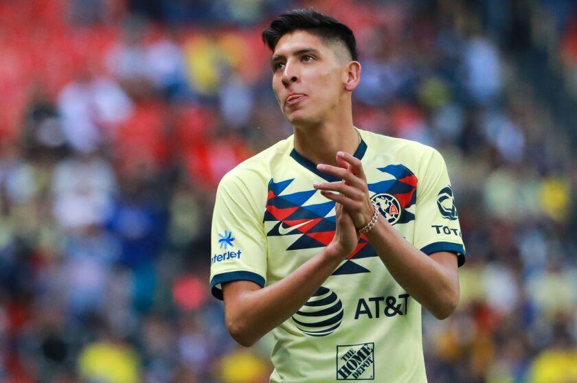 El Ajax presenta al mexicano Edson Álvarez - San Diego Union ...
