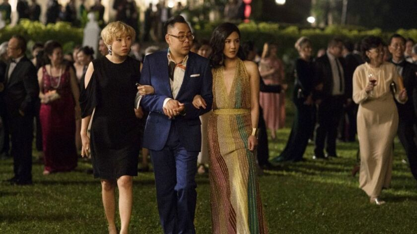 Commentary: 'Crazy Rich Asians' didn't tell all of our