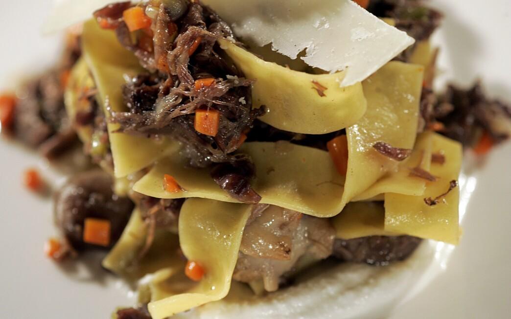 Pizzeria Ortica's lamb ragu