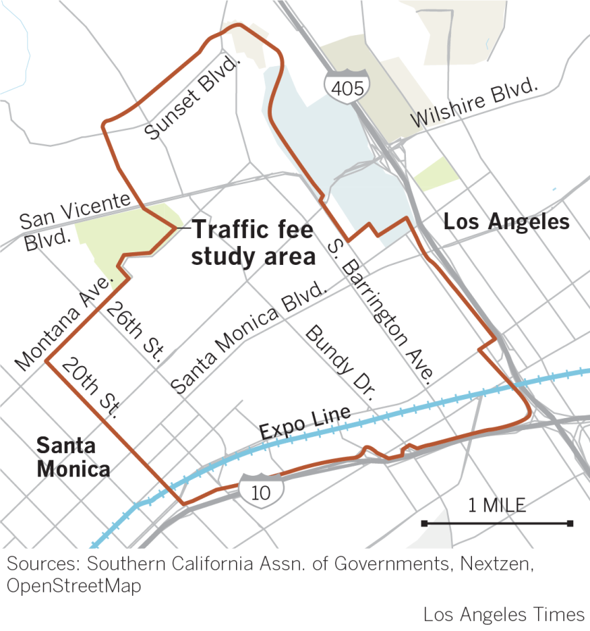 Pay $4 to drive to the Westside? Congestion pricing could