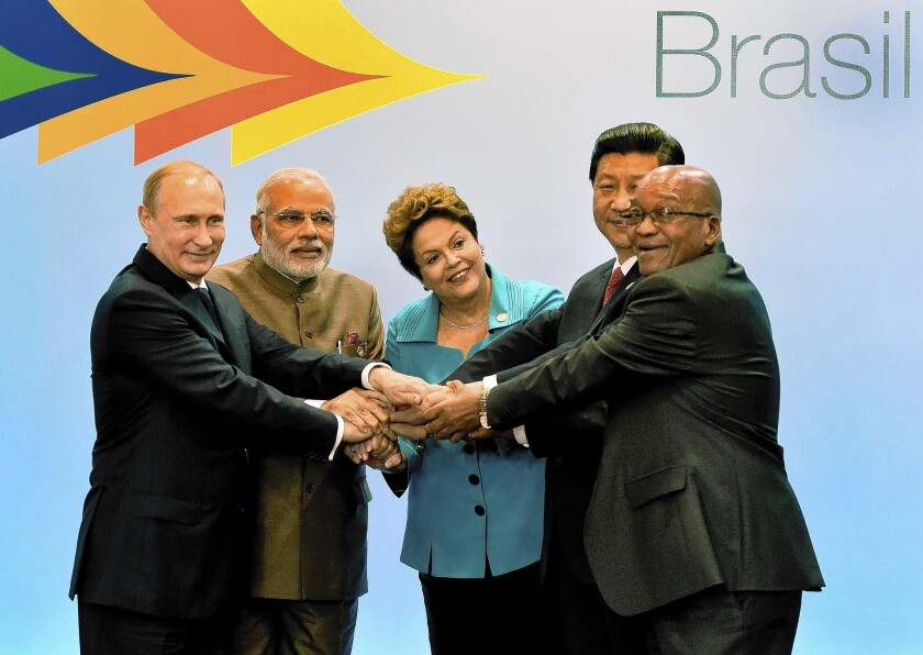 'BRICS' nations to form development bank to rival World Bank, IMF