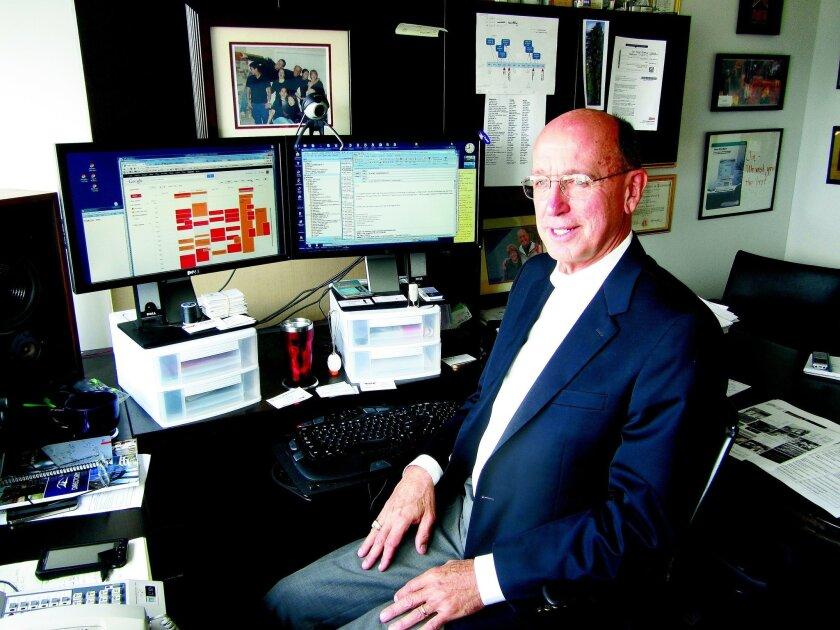 """Jim Hamerly calls himself a """"serial entrepreneur."""" doug williams"""