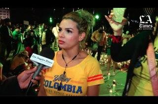 VIDEO: Colombianos en Los Ángeles desesperados por la situación en su país