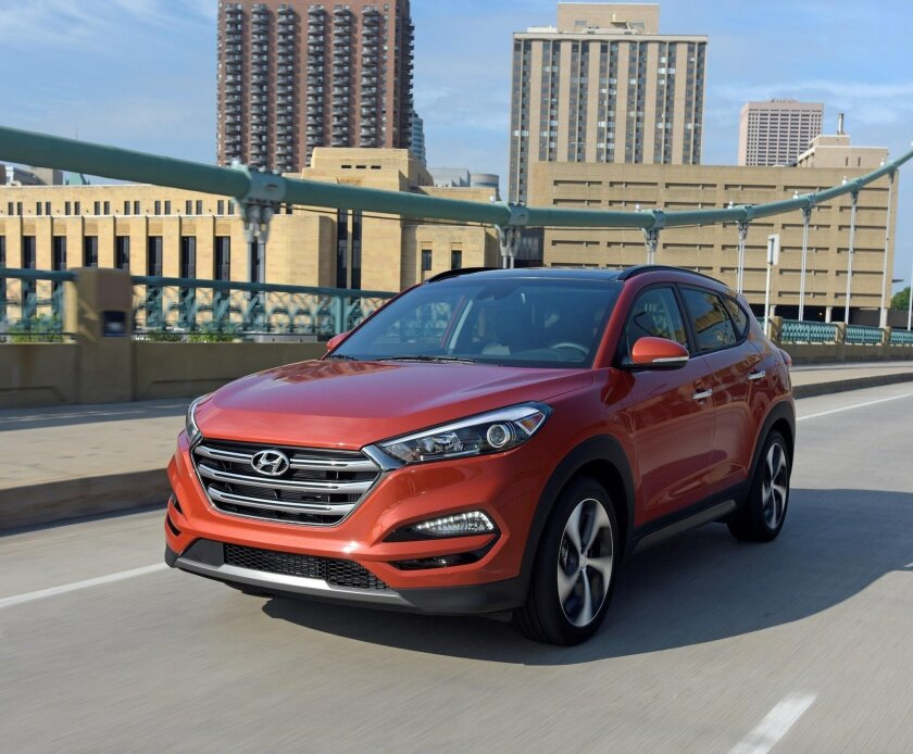The redesigned 2016 Hyundai Tucson packs versatility