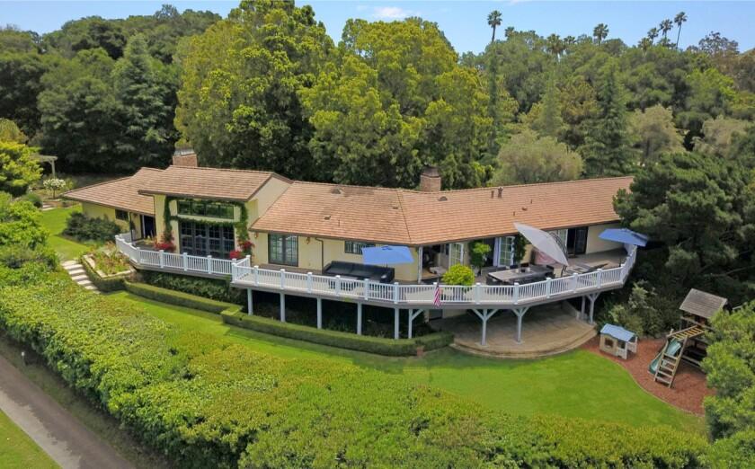 Andrew Banks's Santa Barbara home