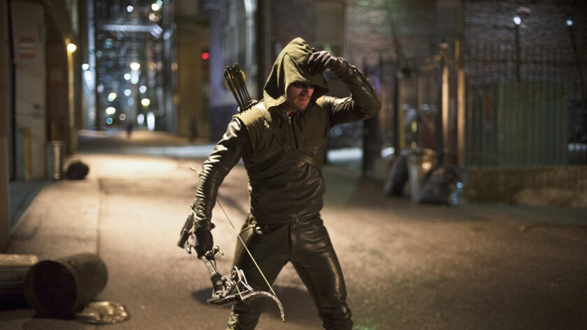 """Arrow's"" Stephen Amell on ""The Flash"""