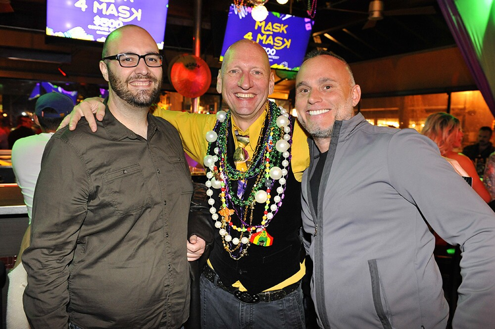It was a night of booze, beads, sequins and celebrating on Fat Tuesday at the Hillcrest Mardi Gras on Tuesday, March 5, 2019.