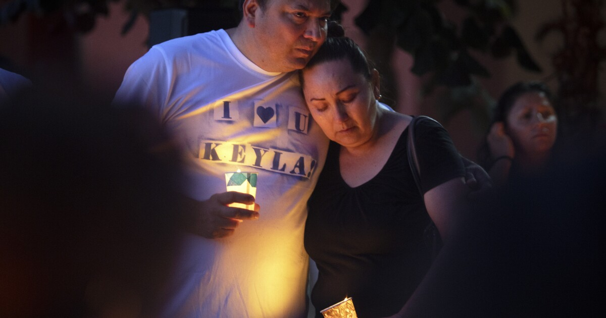 Vigil for Gilroy victim interrupted by news of El Paso shooting