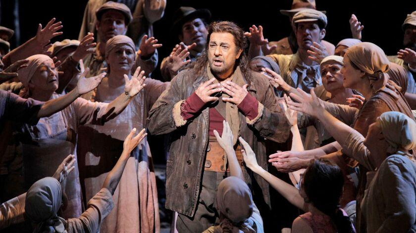 """Plácido Domingo as Juanillo in the L.A. Opera production of """"El Gato Montés: The Wildcat,"""" in 2019."""