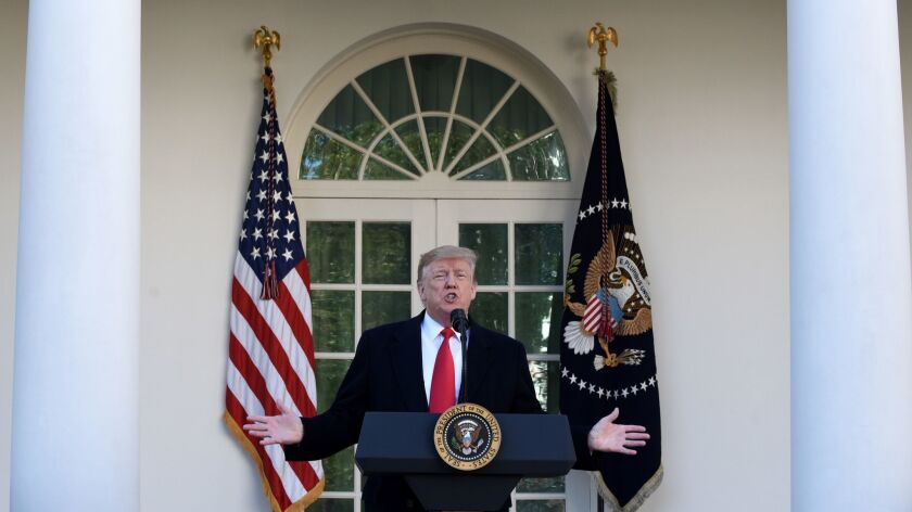 Trump agrees to end government shutdown without any border wall money