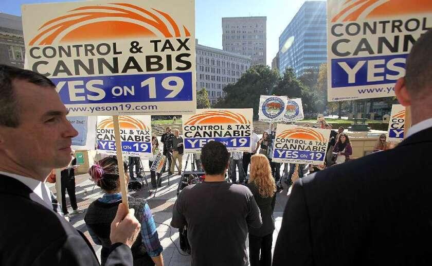 Marijuana campaign