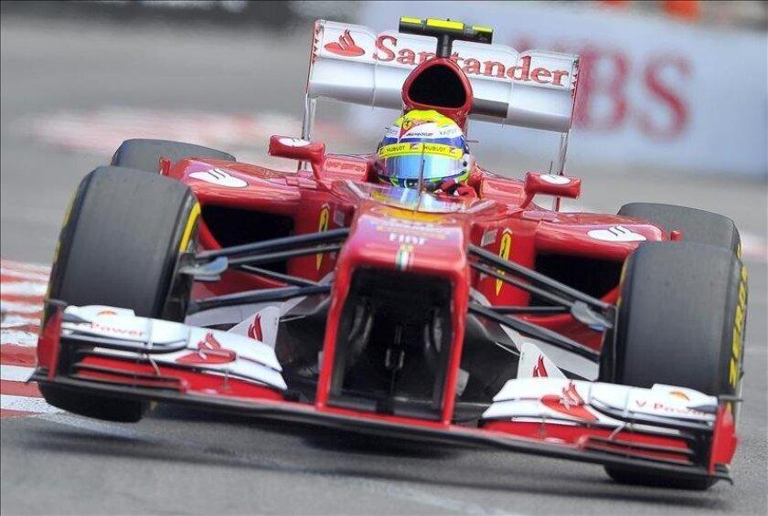 El brasileño Felipe Massa (Ferrari). EFE