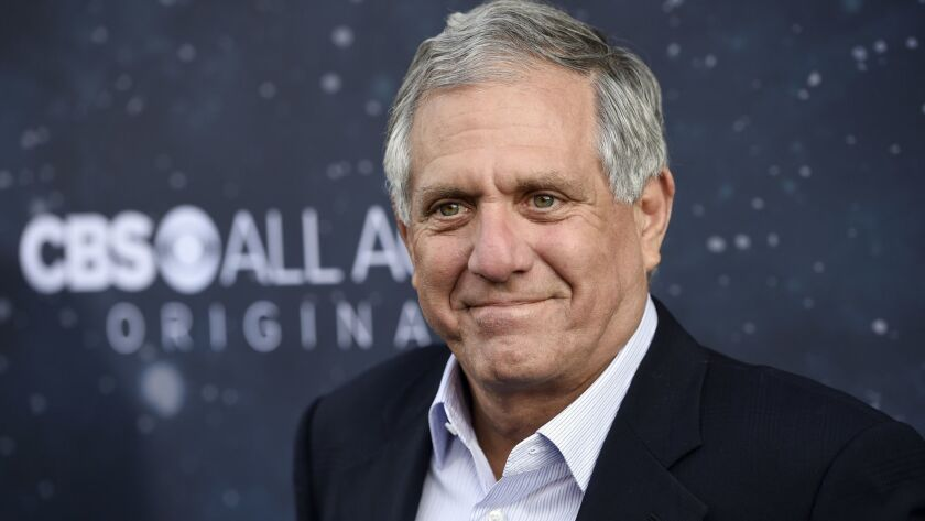 Then-CBS chief Les Moonves on Sept. 19, 2017.