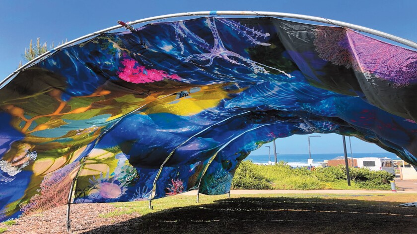 'Ocean Tunnel' is on view at Scripps Institution of Oceanography in La Jolla until April 30, 2019.