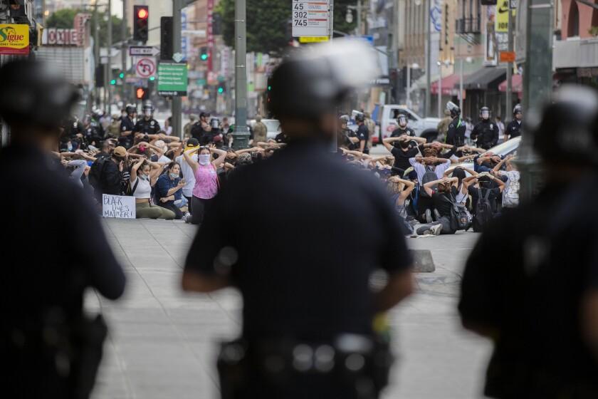 LAPD arrests